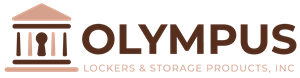 Olympus locker logo