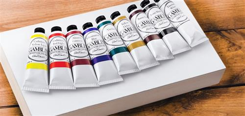 Image of a selection of paint